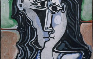 Head of a woman, Pablo Picasso, 1960.