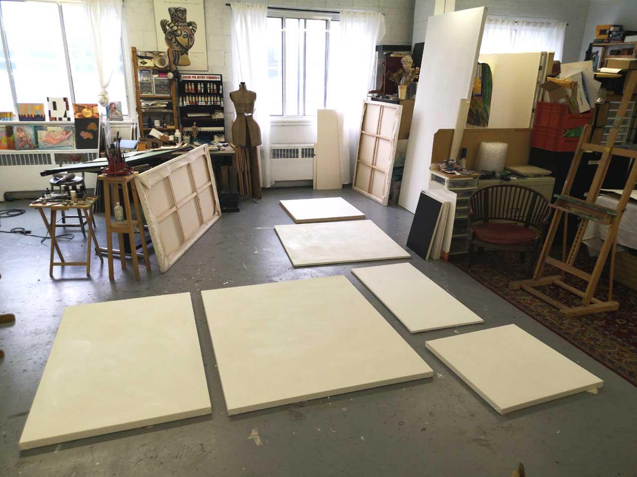 proper canvas preparation