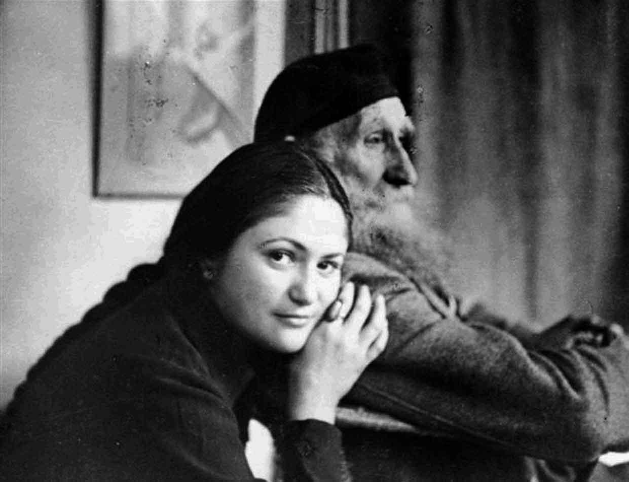 Dina Vierny et Maillol