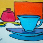 Tea and Sugar. Oil on canvas, 11 x 14 inches © Stewart Fletcher