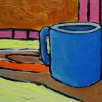 After Breakfast. oil on masonite, 9 x 12 inches © Stewart Fletcher