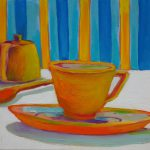 Tea and SuTea and Sugar. oil on canvas, 14 x 18 inches © Stewart Fletchergar. oil on canvas, 14 x 18 inches © Stewart Fletcher