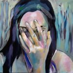 See No Evil, Oil on masonite, 16 x 24 inches © Stewart Fletcher SOLD