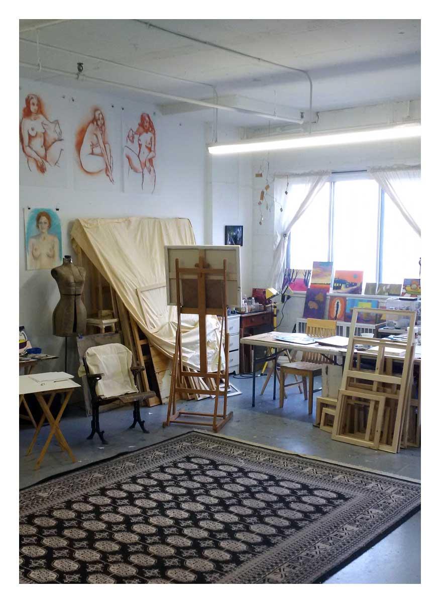 L'atelier de Stewart Fletcher