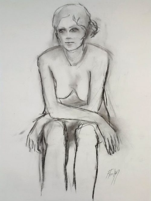 Study of Stephanie Seated
