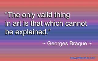 Georges Braque quote