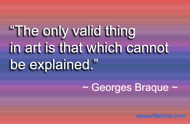 Georges Braque quote