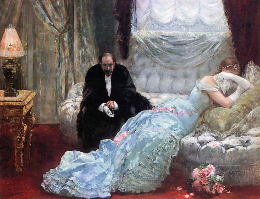 Return from the Ball Henri Gervex 1852 - 1929 French