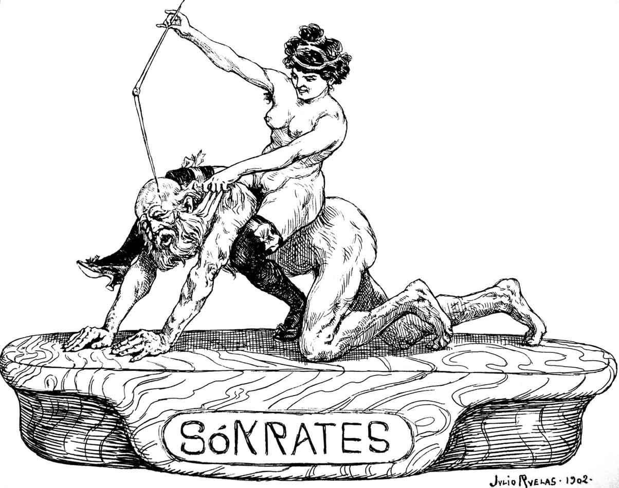 Sokrates, Julio Ruelas 1902.
